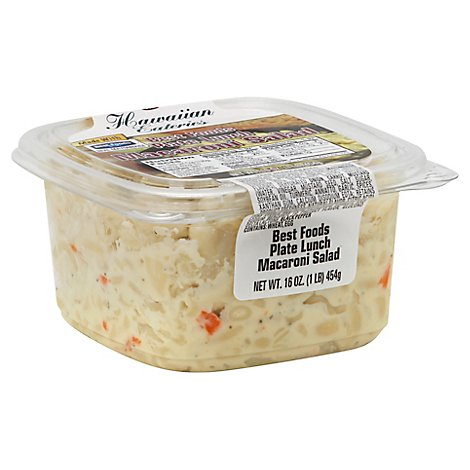 Best Foods Plate Lunch Macaroni Salad - 1 Lb