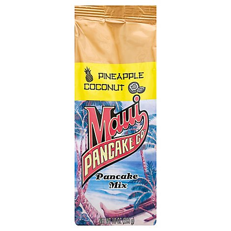 Maui Pancake Company Pineapple Coconut Pancake Mix - 10 Oz