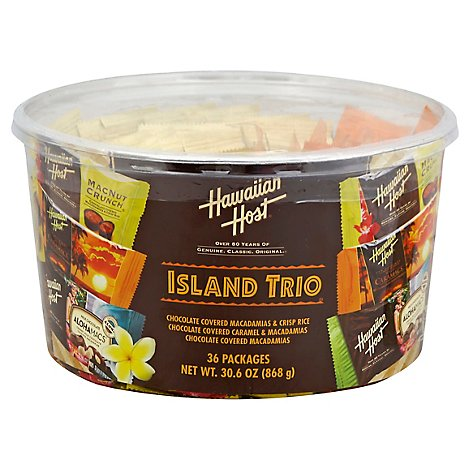 Hawaiian Host Island Trio Tub - 30.6 Oz
