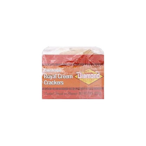 Diamond Bakery Royal Creem Cinnamon Cracker - 8 Oz