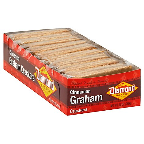 Diamond Cinnamon Graham Crackers - 9.5 Oz