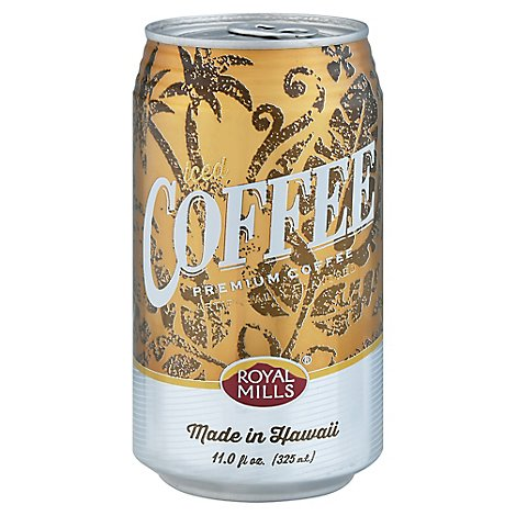 Royal Mills Coffee Iced Cappuccino - 4-11 Fl. Oz.