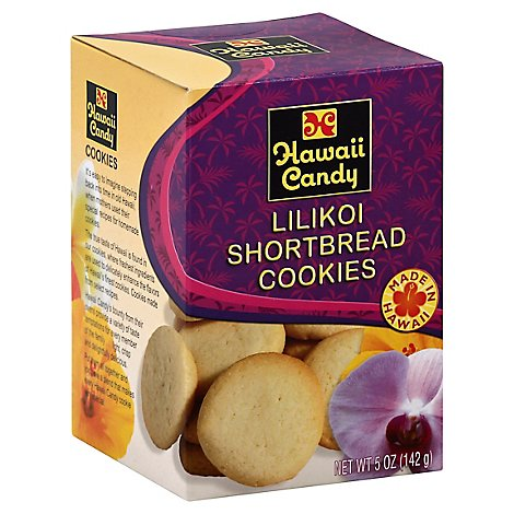 Hawaii Candy Cookies Lilikoi Shortbread - 5 Oz