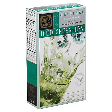 Yamamotoyama Ice Green Tea Sweetened Original - 5.3 Oz