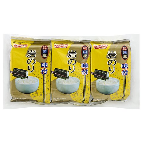 Shirakiku Season Seaweed - 3-.19 Oz