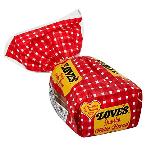 Loves Bread Jumbo White - 32 Oz