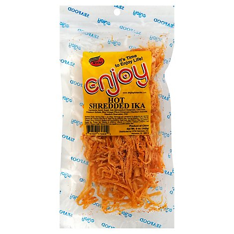 Enjoy Hot Shredded Ika - 5 Oz