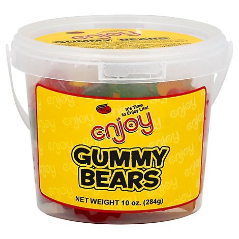 Enjoy Gummy Bears - 10 Oz
