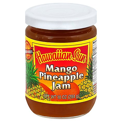 Hawaiian Sun Jam Mango Pineapple - 10 Oz
