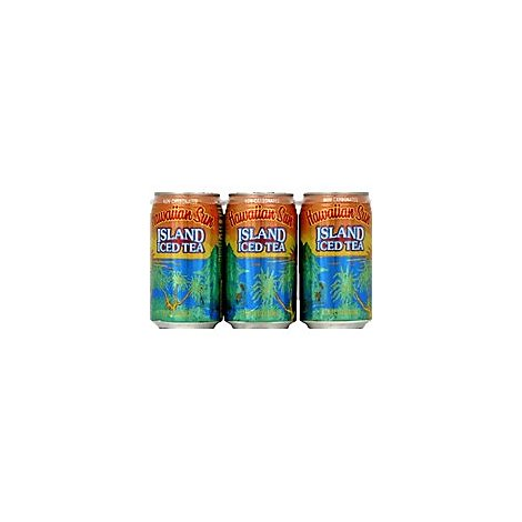 Hawaiian Sun Island Iced Tea - 6-11.5 Fl. Oz.
