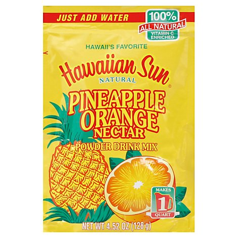 Hawn Sun Pineapple Orange Powder Drink Mix - 4.44 Oz
