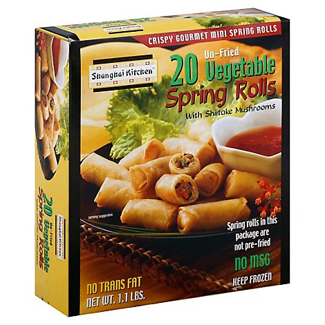 Shanghai Vegetable Spring Roll - 17 Oz