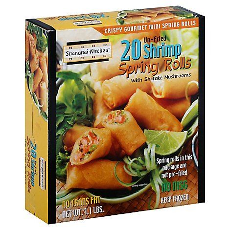 Shanghai Shrimp Spring Roll - 17 Oz