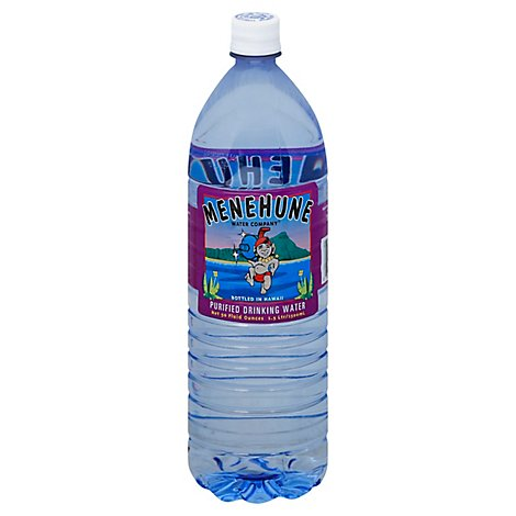 Menehune Drinking Water Purified - 50 Fl. Oz.