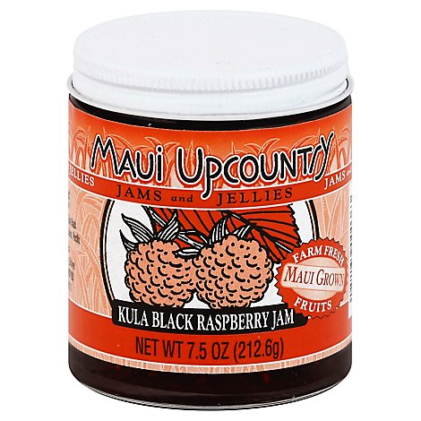 Maui Upcountry Jam Kula Black Raspberry - 7.5 Oz
