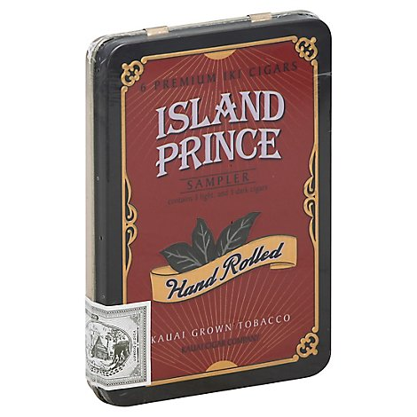 Island Prince Tin Sampler Iki Cigar - 6 Count