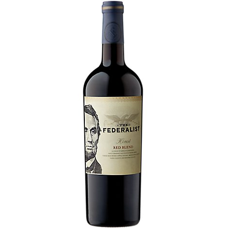 The Federalist Wine Red Blend Honest 2014 - 750 Ml