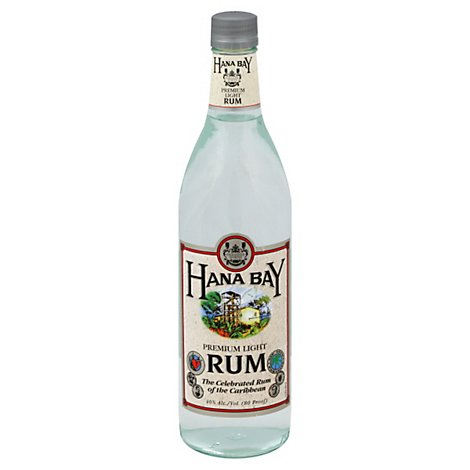 Hana Bay Rum Light 80 Proof - 750 Ml