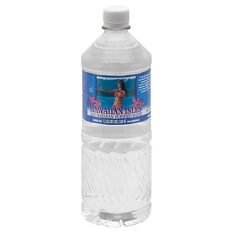 Hawaiian Isles Purified Water 100% Hawaiian - 33.8 Fl. Oz.