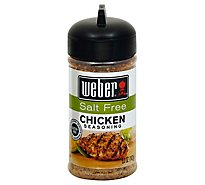 Weber Seasoning Salt Free Chicken - 6.75 Oz
