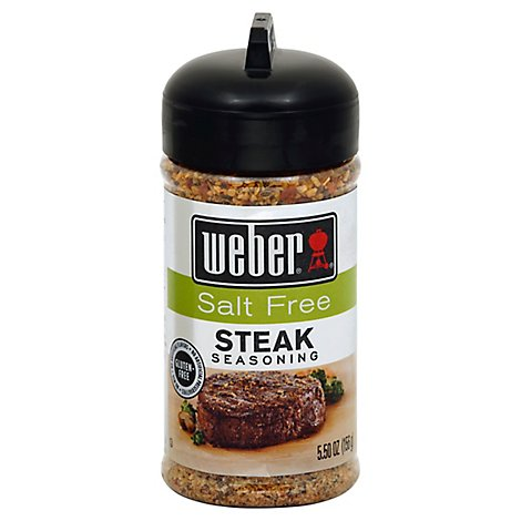 Weber Seasoning Salt Free Chicken - 7.25 Oz