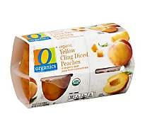 O Organics Organic Peaches Diced - 4-4 Oz