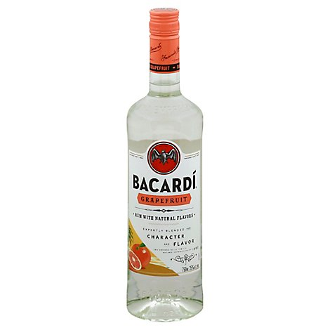 Bacardi Rum Grapefruit 70 Proof - 750 Ml