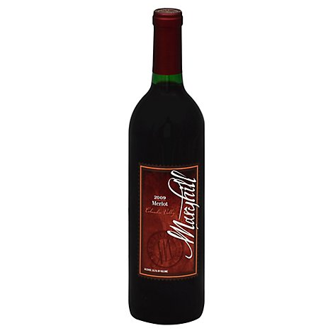 Maryhill Merlot Wine - 750 Ml