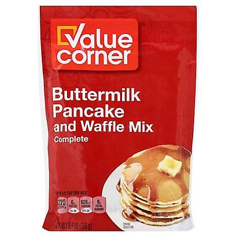 Value Crnr Pancake Mix - 5.5 Oz