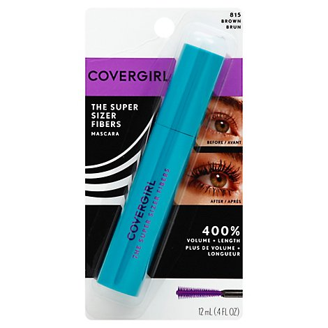 COVERGIRL Super Sizer Fiber Mascara Brown 815 - 0.4 Oz