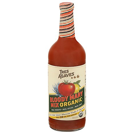 Tres Agaves Organic Bloody Mary Mix - 1 Liter