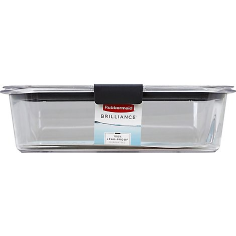 Rubbermaid Container Brilliance Large 9.6 Cups - Each