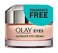 Olay Eye Cream Ultimate For Wrinkles Puffy Eyes + Dark Circles - 0.4 Fl. Oz.