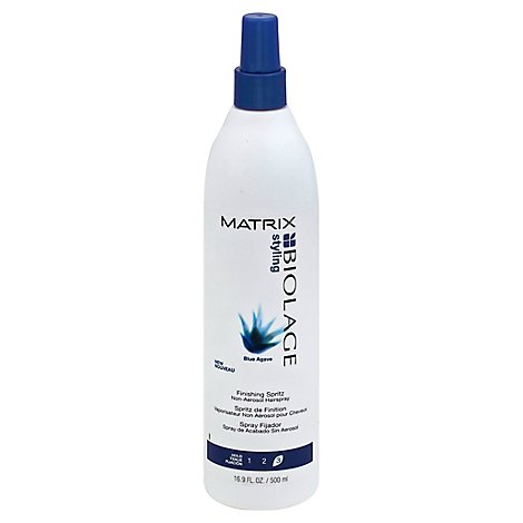 Biolage Styling Blue Agave Hairspray Finishing Spritz Non-Aerosol Hold 3 - 16.9 Fl. Oz.