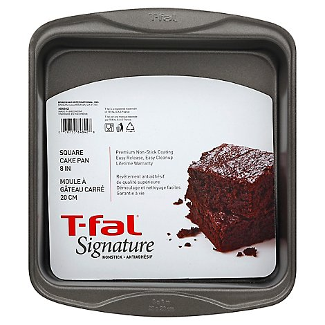 T Fal Signature Ns Cake Sq 8in - Each