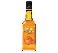 Evan Williams Peach Whiskey 70 Proof - 750 Ml