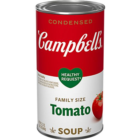 Campbells Healthy Request Soup Condensed Tomato Family Size - 23.2 Oz