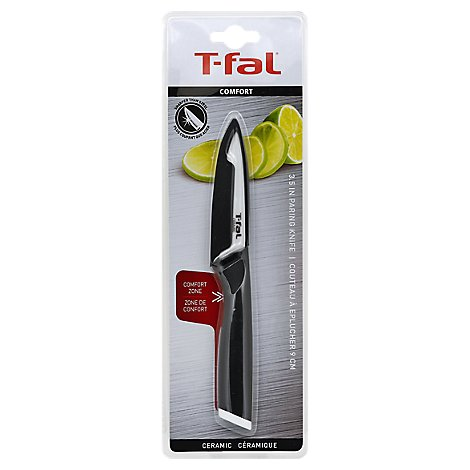 T Fal Comfort Knife Cer Paring 3.5in - Each