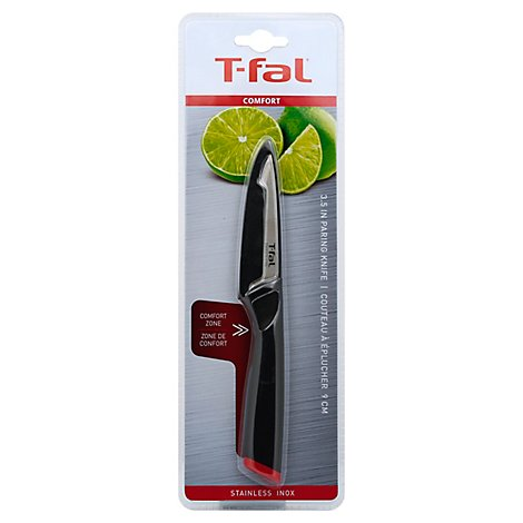 T Fal Comfort Knife Ss Paring 3.5in - Each