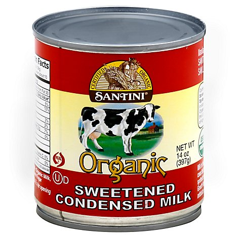 Santini Organic Condensed Milk Sweetened - 14 Oz