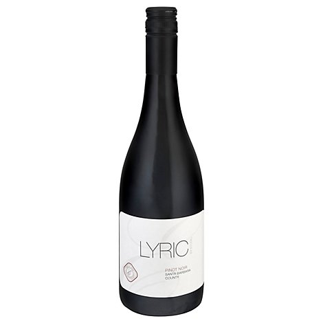 Lyric By Etude Wine Pinot Noir Santa Barbara Country - 750 Ml