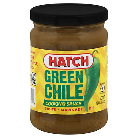 HATCH Sauce Cooking Gluten Free Green Chile Can - 12 Oz