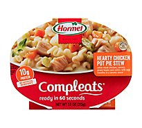 Hormel Compleats Microwave Meals Comfort Classics Pot Pie Hearty Chicken - 7.5 Oz
