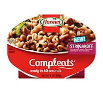 Hormel Compleats Microwave Meals Stroganoff - 9 Oz