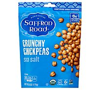 Saffron Road Chickpeas Crunchy Sea Slt - 6 Oz