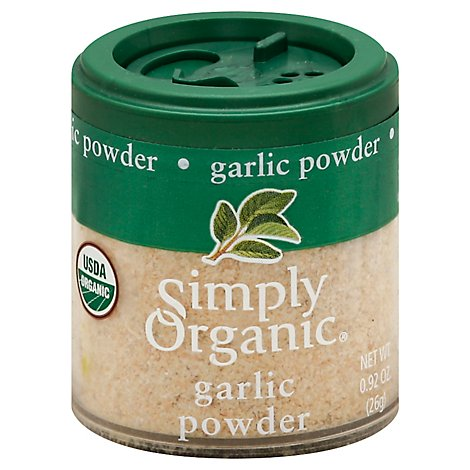 Simply Organic Garlic Powder - 0.92 Oz
