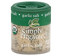 Simply Organic Garlic Salt - 1.06 Oz