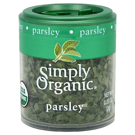 Simply Organic Parsley - 0.07 Oz