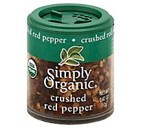 Simply Organic Red Pepper Crushed - 0.42 Oz
