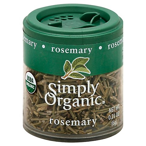 Simply Organic Rosemary - 0.21 Oz
